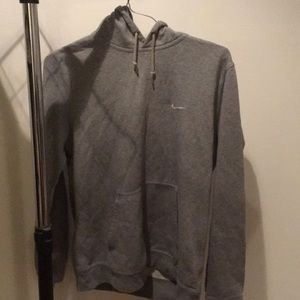 Clean and good condition grey Nike hoodie